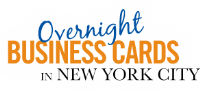 NYC Overnight Biz Cards